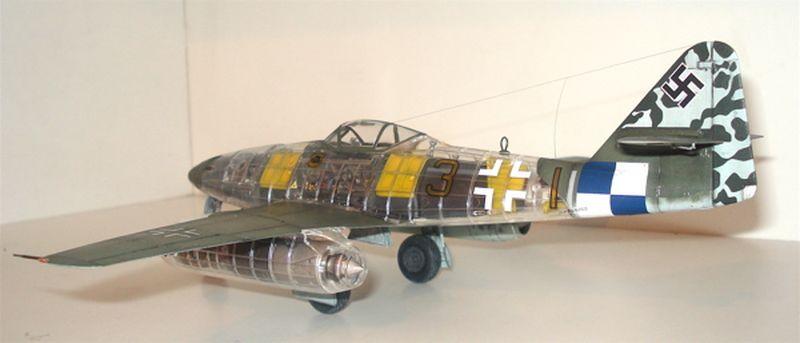 Maqueta Tamiya Me-262 08