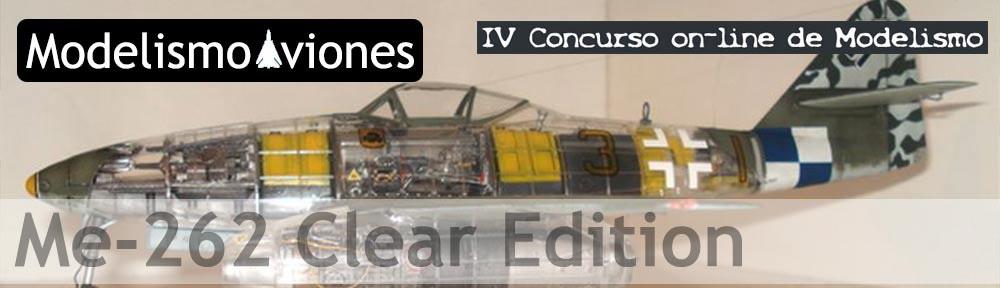 Maqueta Tamiya Me-262 Clear Edition
