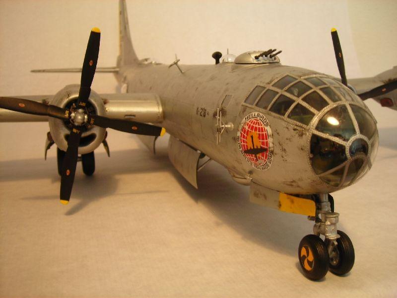 Maqueta B-29 Superfortress 01