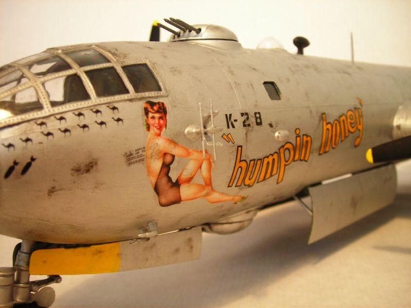 Maqueta B-29 Superfortress 02