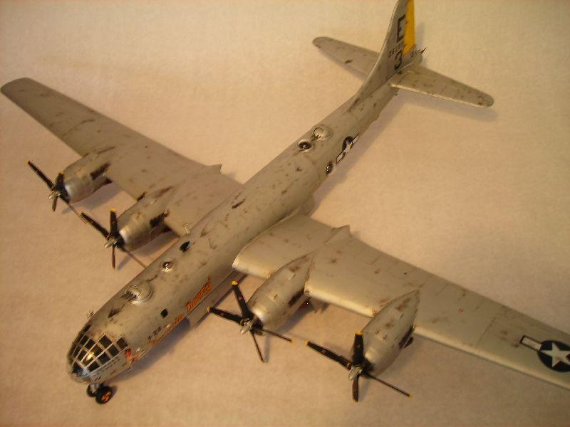 Maqueta B-29 Superfortress 03