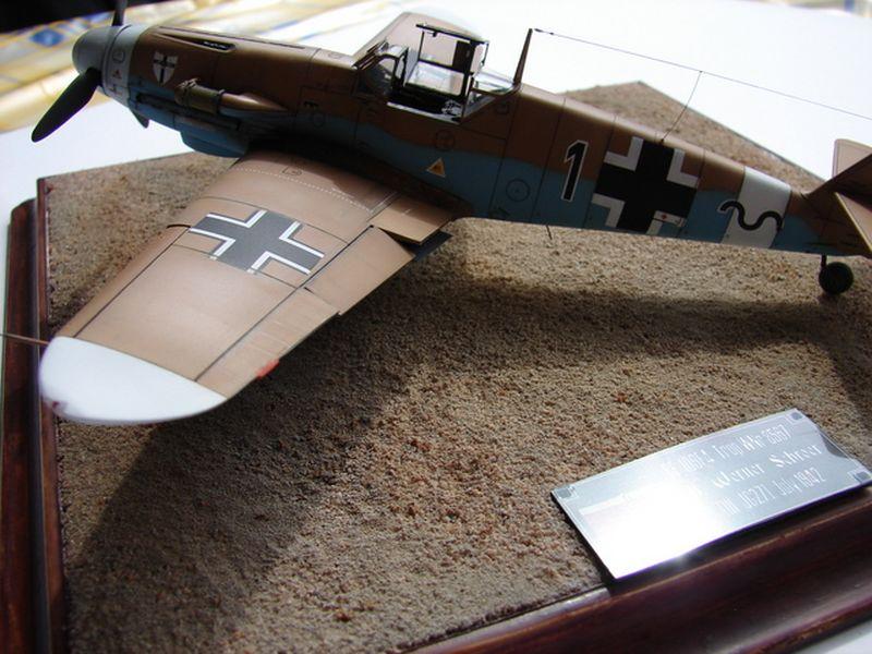 Maqueta Bf-109 Hasegawa 2