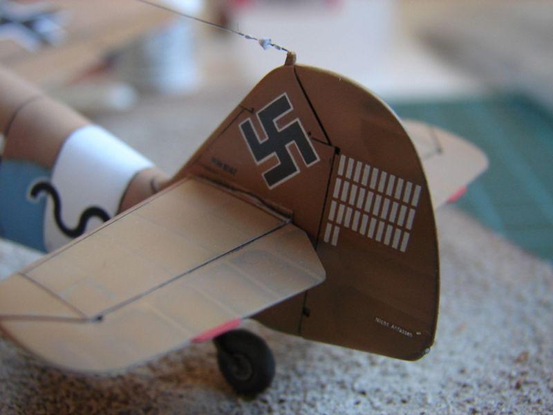 Maqueta Bf-109 Hasegawa 3
