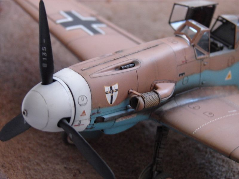 Maqueta Bf-109 Hasegawa 4