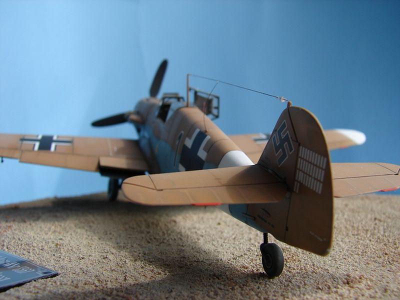 Maqueta Bf-109 Hasegawa 5