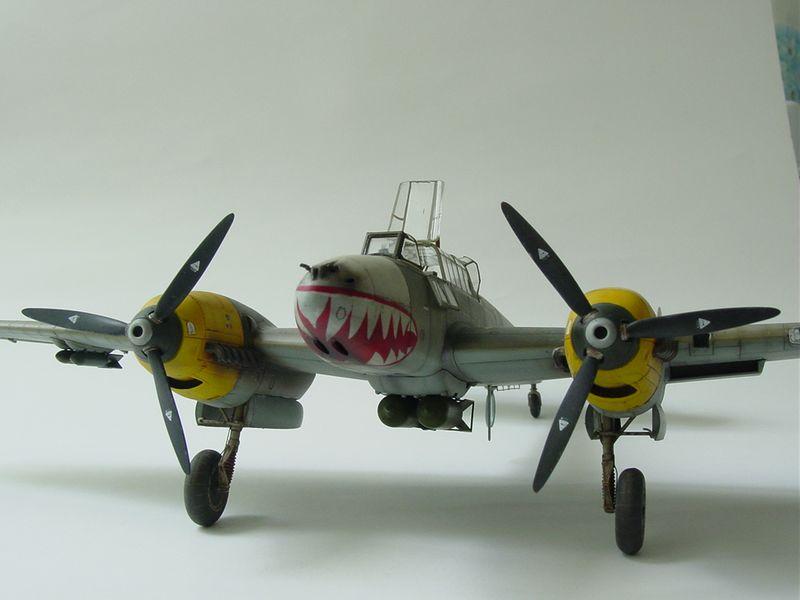 Maqueta Bf-110 Iraquí 1
