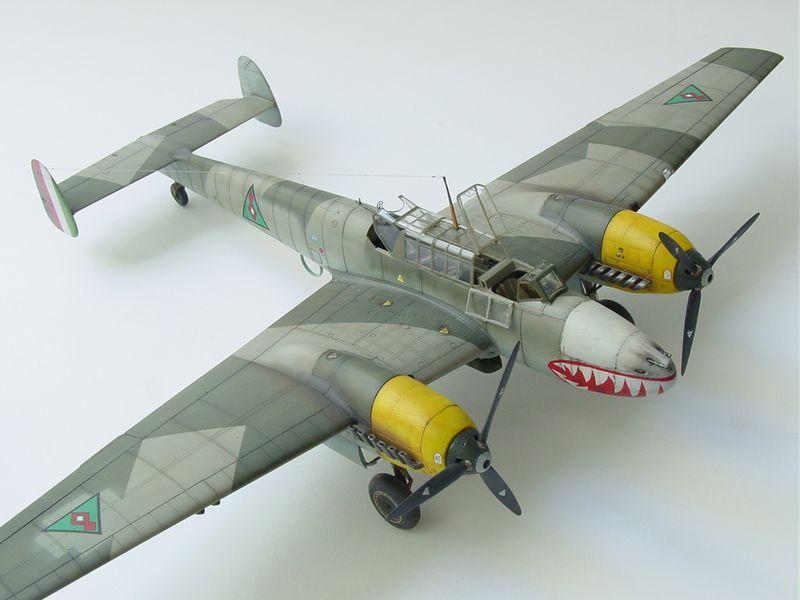 Maqueta Bf-110 E 04
