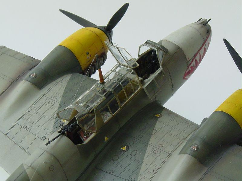 Maqueta Bf-110 E 05
