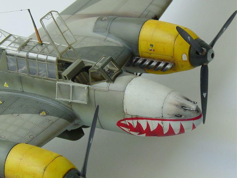 Maqueta Bf-110 E 06