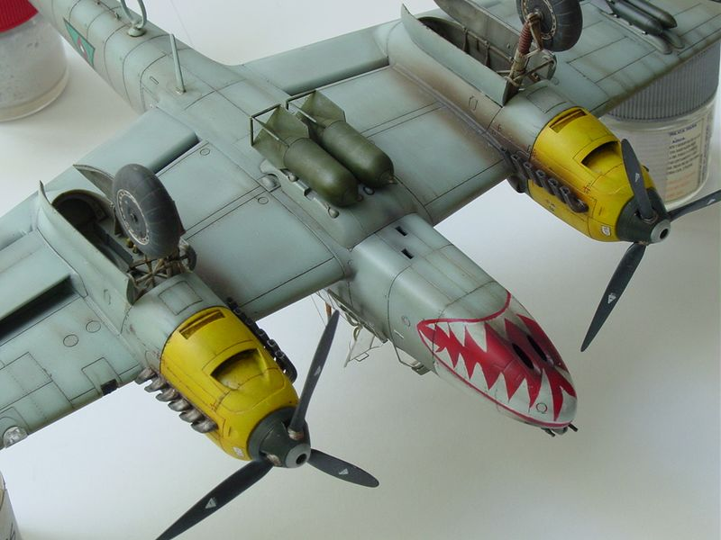 Maqueta Bf-110 E 08