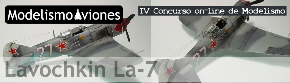 Maqueta Lavochkin La-7