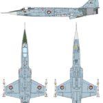 Esquemas del nuevo F-104 de Italeri a 1/72