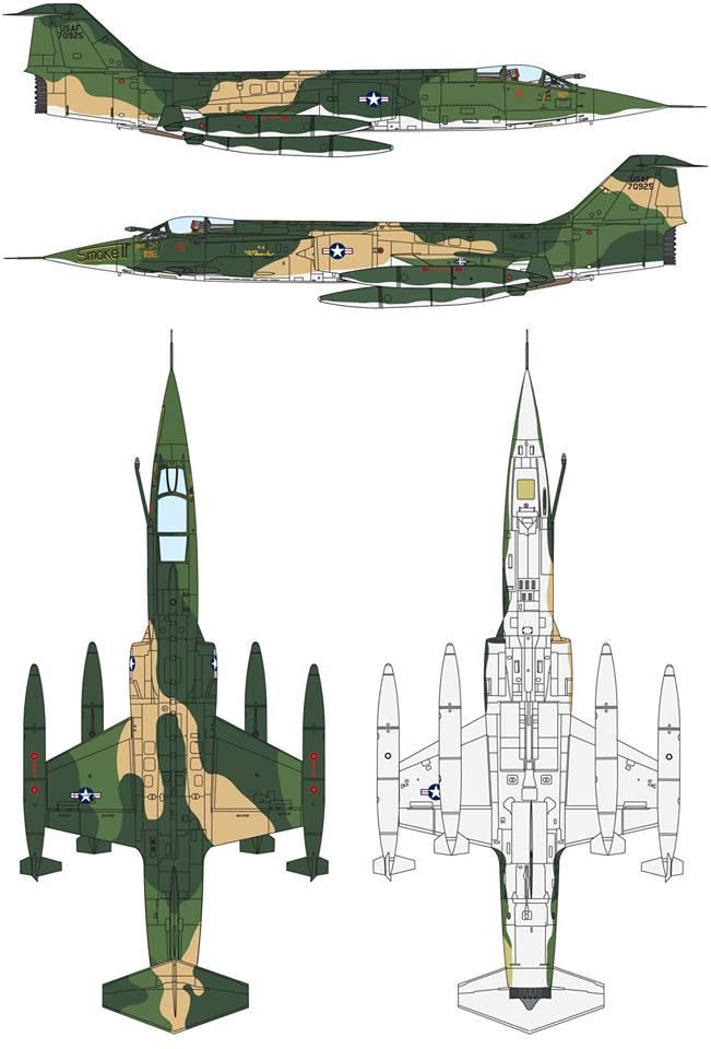 Maqueta F-104 Vietnam
