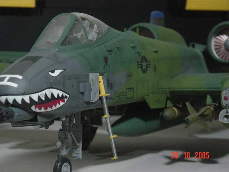 Maqueta A-10 Thunderbolt 07