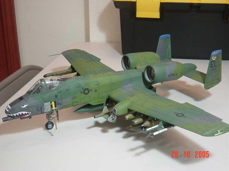 Maqueta A-10 Thunderbolt 08