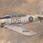 Nueva maqueta del Harvard Mk.IIA de Italeri a 1/48