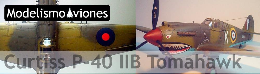 Maqueta Curtiss P-40