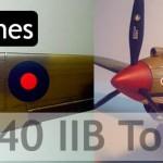 Maqueta Curtiss P-40 Tomahawk IIB (Trumpeter 1/48)