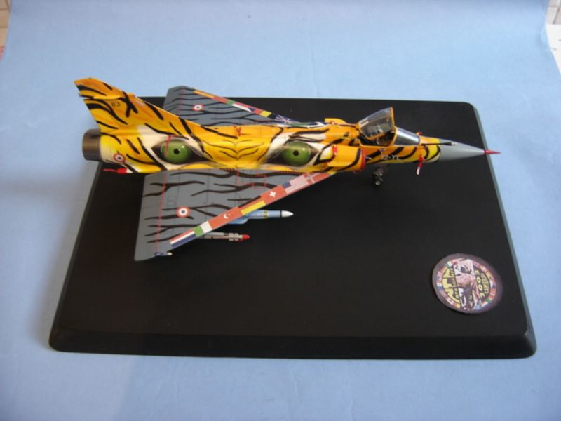 Maqueta Italeri Mirage 2000 Tiger Meet 04