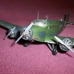 Maqueta Junkers 52 01