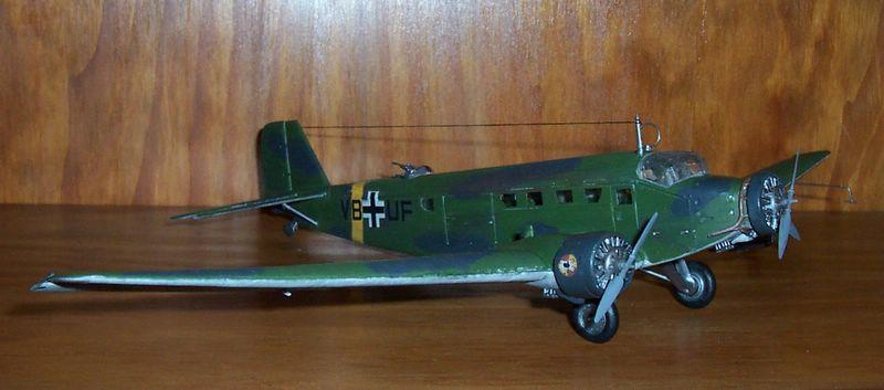 Maqueta Junkers 52 02