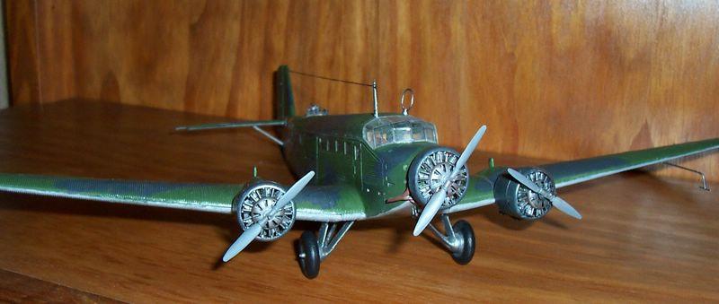 Maqueta Junkers 52 03