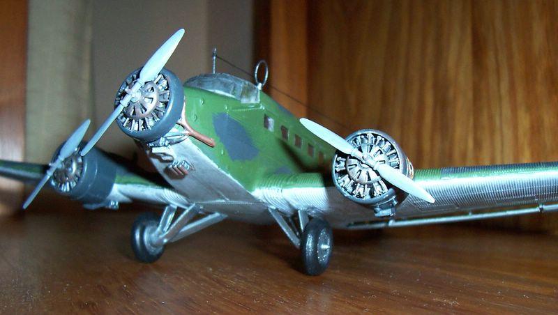 Maqueta Junkers 52 04