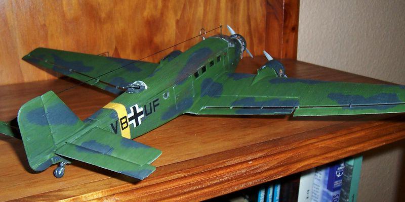 Maqueta Junkers 52 05