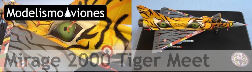 Maqueta Italeri Mirage 2000 Tiger Meetl