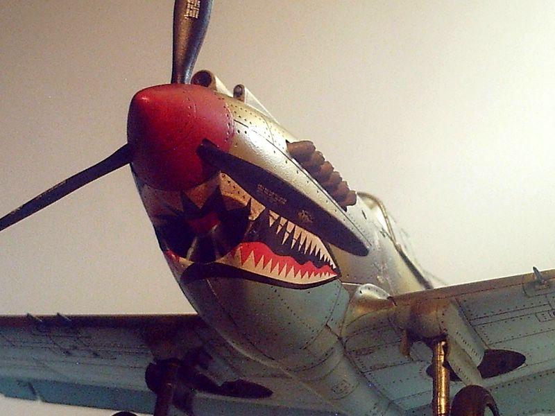 Maqueta P-40 Trumpeter 05