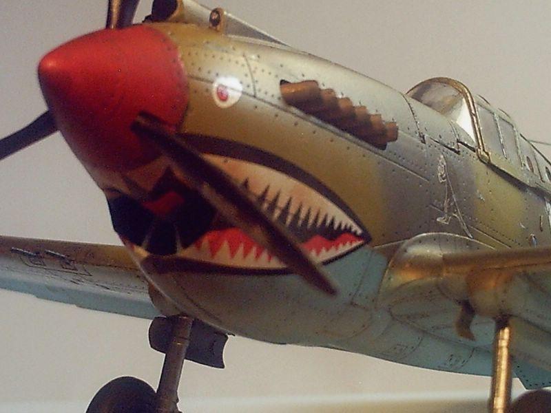 Maqueta P-40 Trumpeter 07