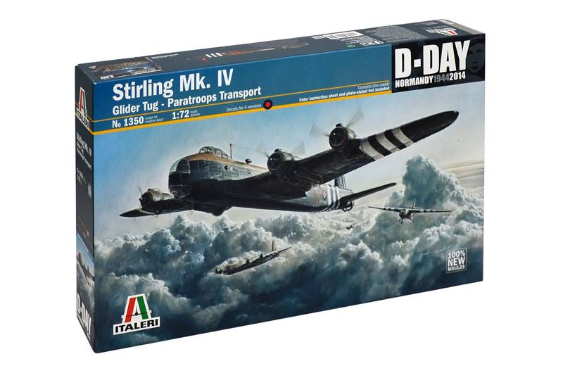 Box-Art maqueta Short Stirling de Italeri