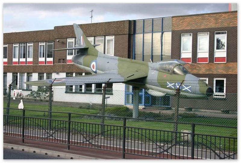 Avión en la fábrica de Humbrol