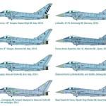 Colores de la nueva maqueta de Eurofighter de Italeri