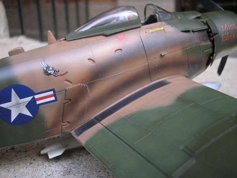 Maqueta A-1H Skyraider de Revell 14