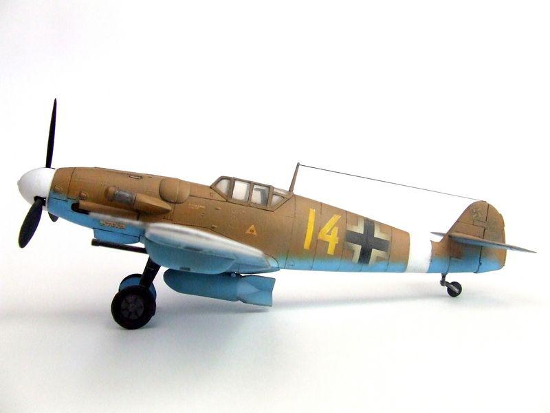 Maqueta Bf-109 de Fujimi 01