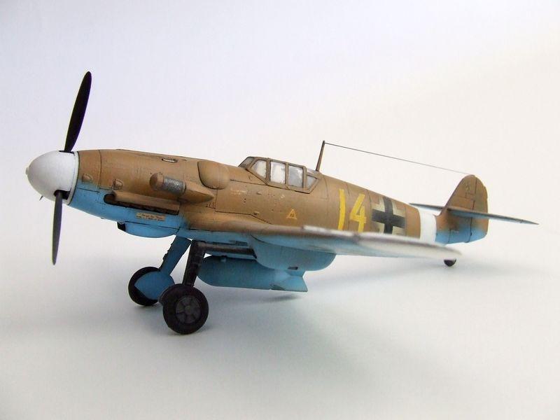 Maqueta Bf-109 de Fujimi 02
