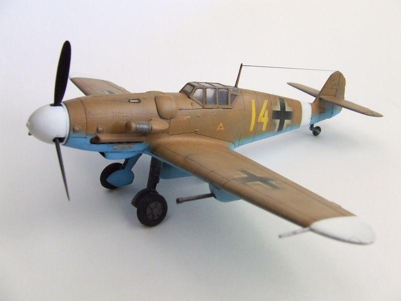 Maqueta Bf-109 de Fujimi 03