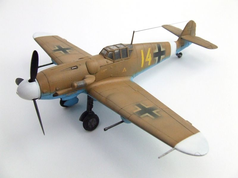 Maqueta Bf-109 de Fujimi 04