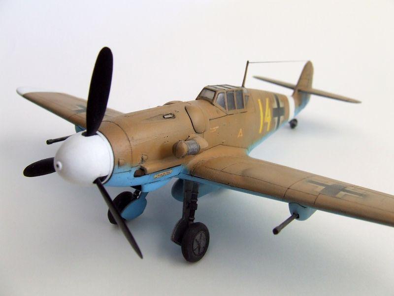 Maqueta Bf-109 de Fujimi 05