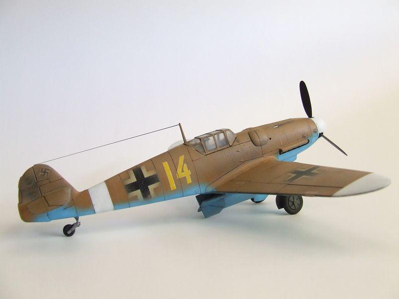 Maqueta Bf-109 de Fujimi 06