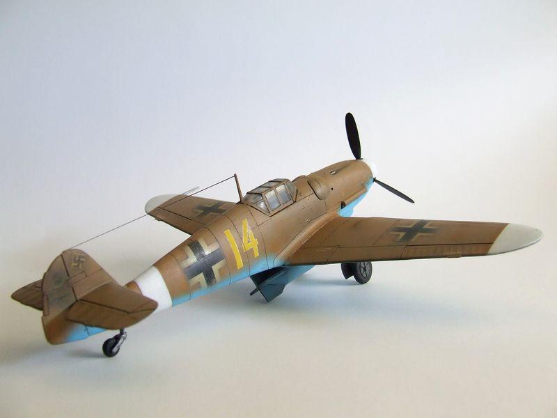 Maqueta Bf-109 de Fujimi 07