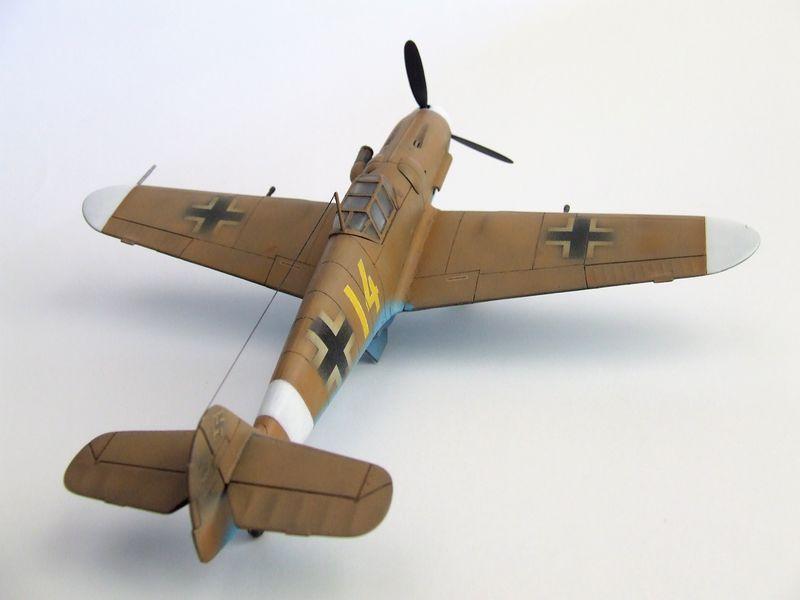 Maqueta Bf-109 de Fujimi 08