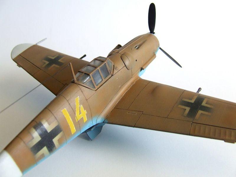 Maqueta Bf-109 de Fujimi 09