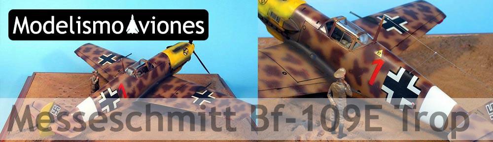 Maqueta Bf-109 Trop Hasegawa