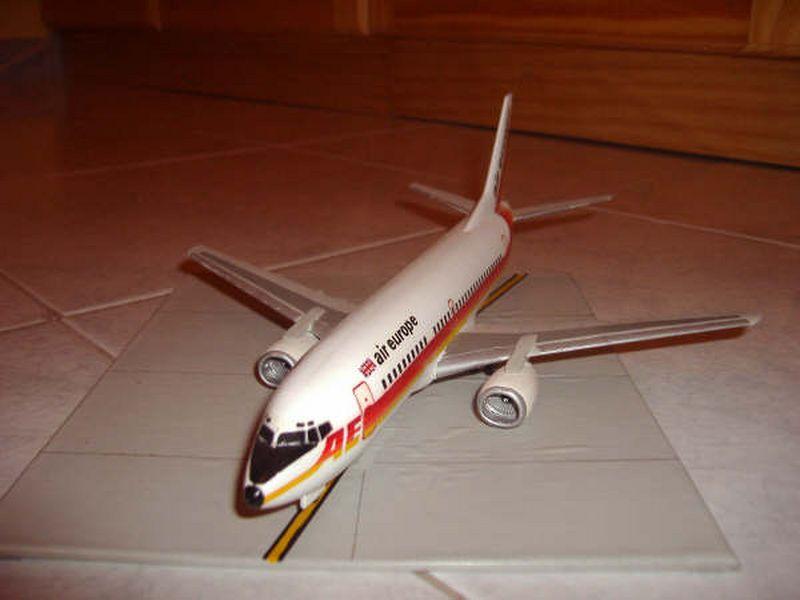 Maqueta Boeing 737 Air Europe 02