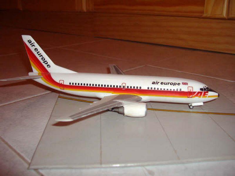 Maqueta Boeing 737 Air Europe 05