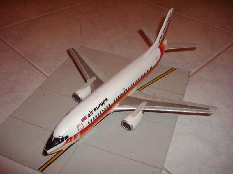 Maqueta Boeing 737 Air Europe 07