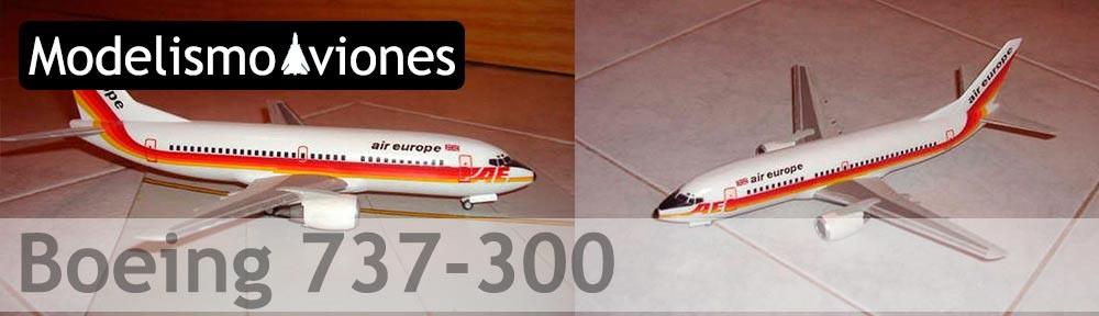 Maqueta Boeing 737-300