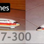 Maqueta Boeing 737-300 Air Europe (Minicraft 1/144)